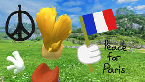 Rayman supports Peace for Paris