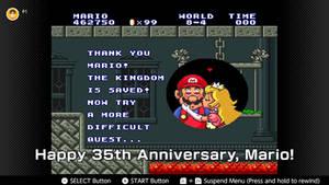 Super Mario 35th Anniversary thing