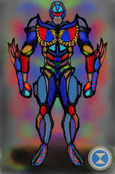 Mechanoid- Rapid Concept Art by DM-SketchAlchemist