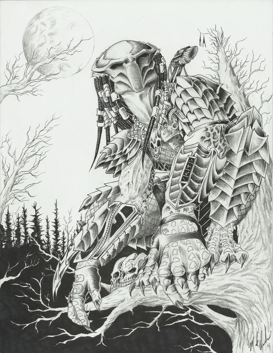 BLACK FOREST HUNTER by yacobucci