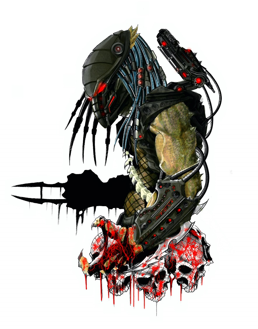 Image Result For Alien Predator Coloring