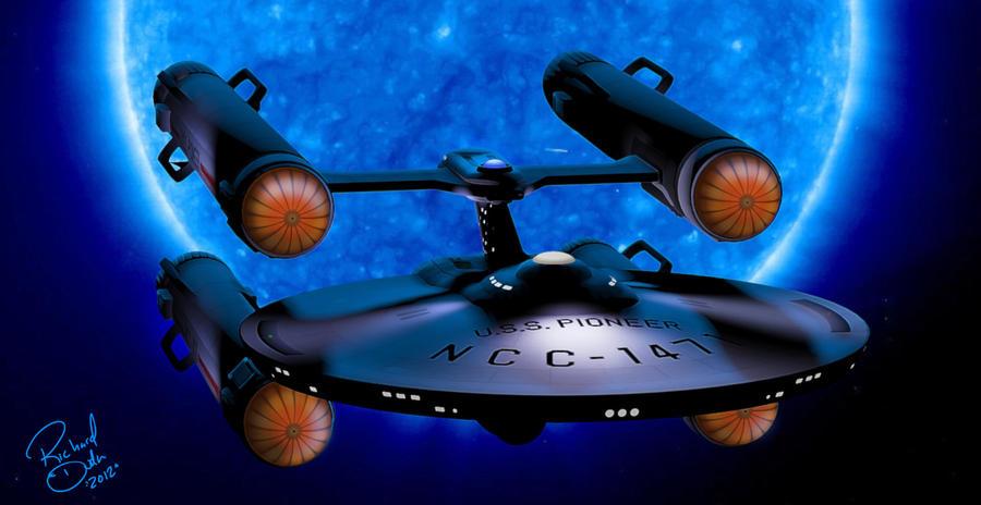 USS Pioneer by rduda