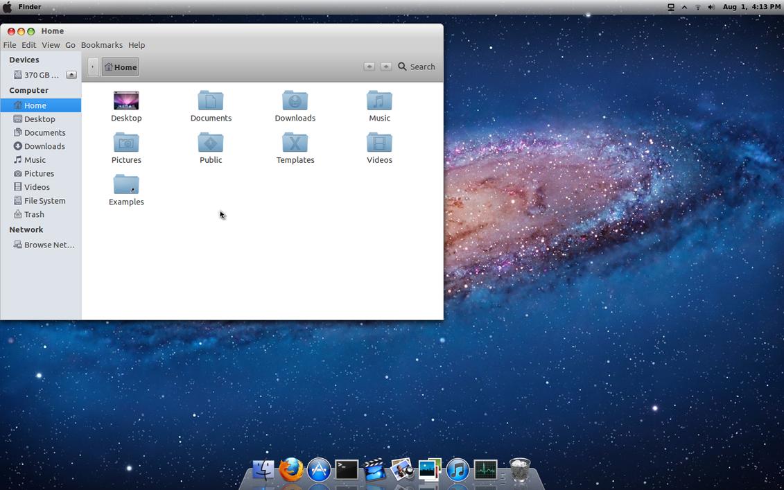Как сделать ubuntu похожей mac os x