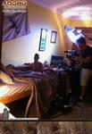 Bryan setting up - Melvin Visits