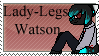Lady Legs Watson Stamp by Swim-Punk