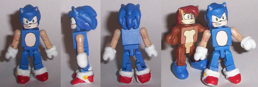 DeviantArt: More Like Sonic Minimate by Lee-At-Arms
