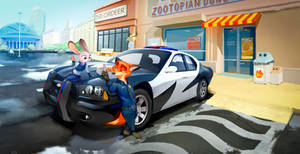 Usual day in Zootopia