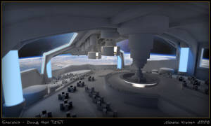 Starship - Dining Hall WIP 2