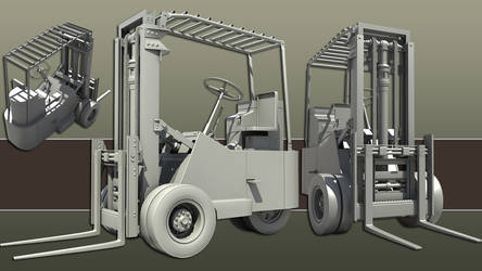 Forklift by chiaroscuro