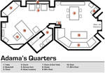 Adama's Quarters Floorplan