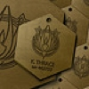 Starbuck Dogtags by BSG75
