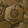 Athena Dogtags by BSG75
