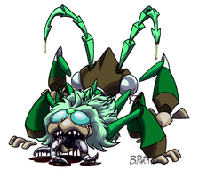Goretober Day 9 - Monster Form