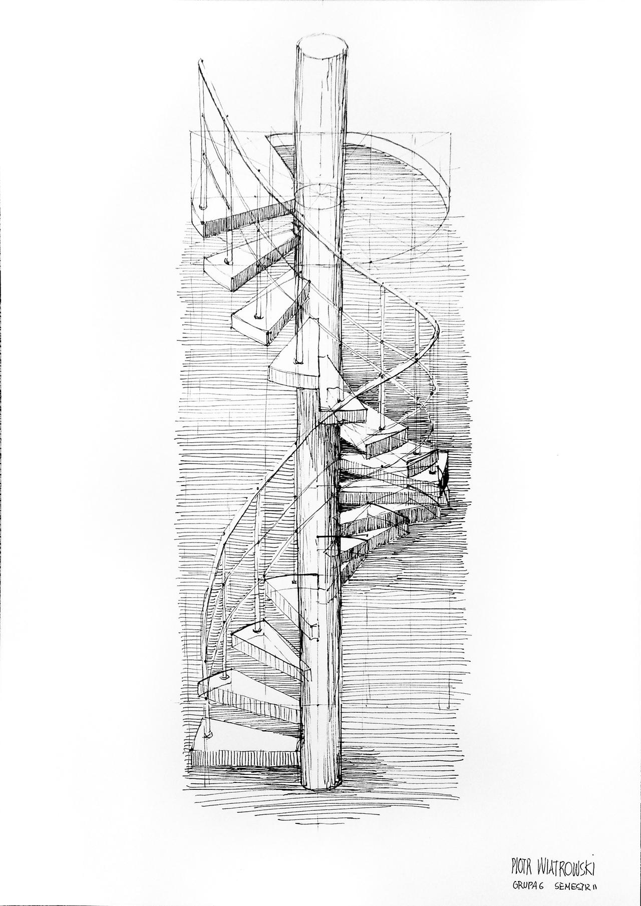 Spiral Staircase By Wiatrp1 On Deviantart