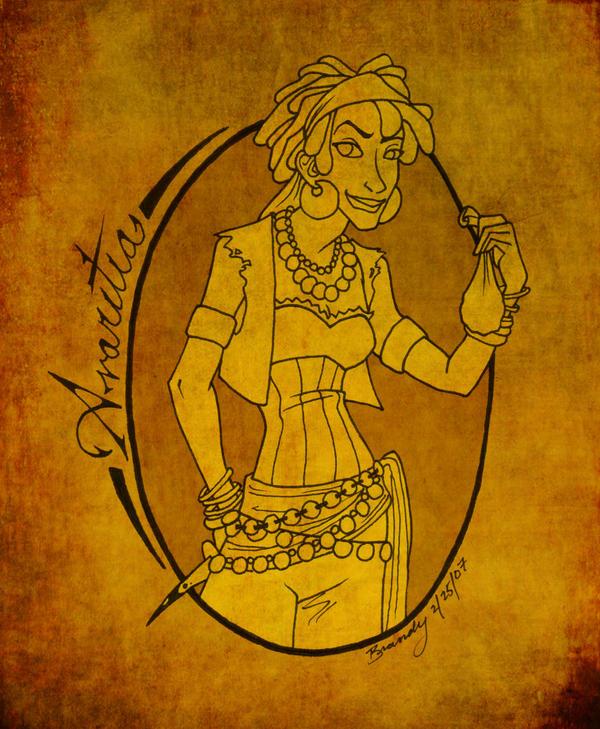 Seven Deadly Sins - Avaritia by Lusc-Fire
