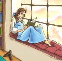 Bookworm by Lusc-Fire