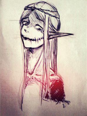 Random Sketch by Aleecita