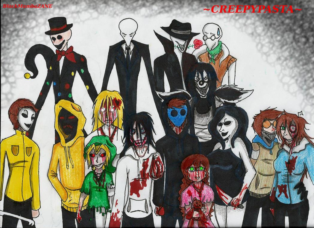 Creepypasta Group By BlackMambaZANE On DeviantArt
