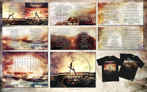 Ashent - Inheritance full CD packaging design by Aegis-Illustration