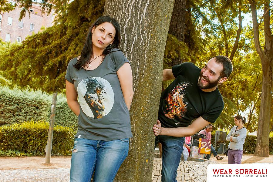 Wear Surreal apparel promo 2 by Aegis-Illustration