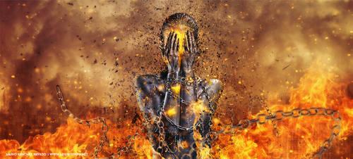 Through ashes rise