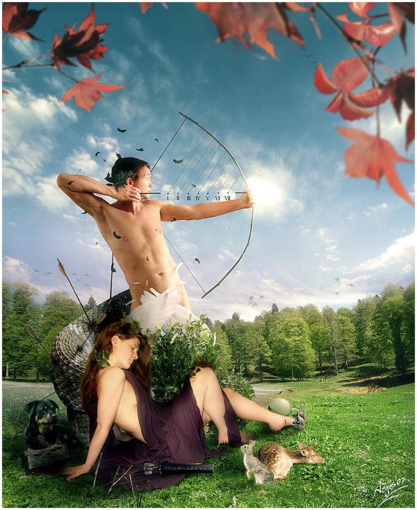 Myth Series: Artemis + Apollo Picture, Myth Series ...