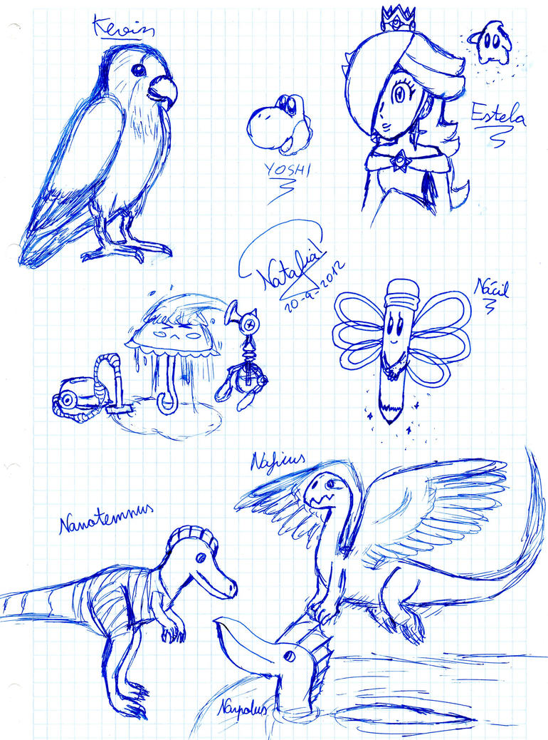 Doodle page 1 by Dino-drawer