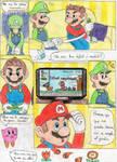 Mario y Luigi La Odisea de los Mundos(P.3) by Dino-drawer
