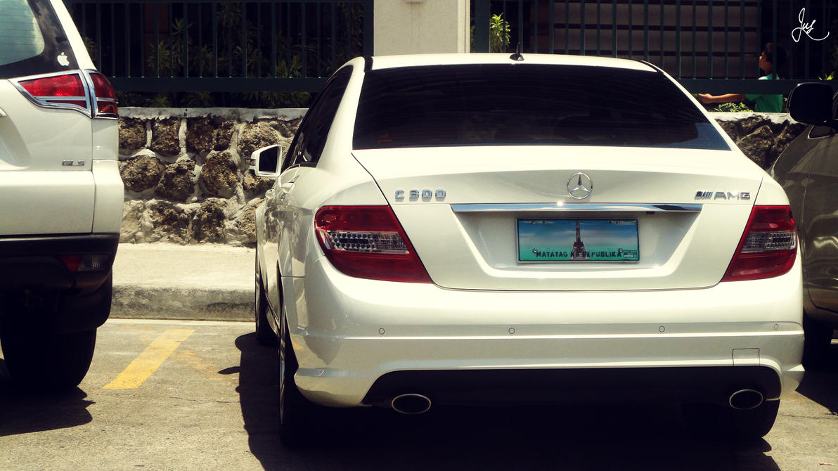 Mercedes c300 amg by jus1029 on deviantart for Mercedes benz c300 service b