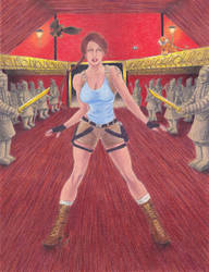 The Dangers of Tomb Raider Series, no. 1, Collab by ArtisticAdventures