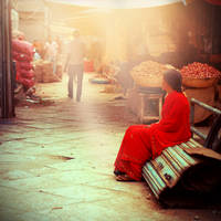 Indian Market by eulalievarenne
