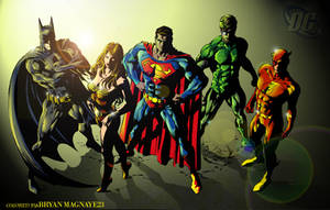 DC  Heroes by arfel1989