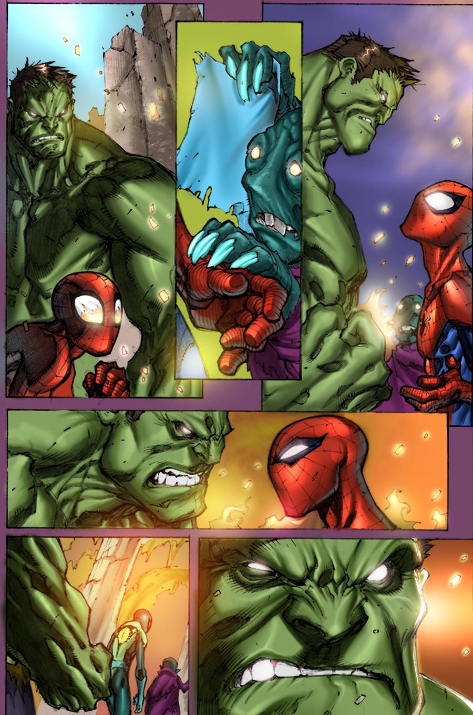 hulk spiderman by arfel1989 hulk spiderman by arfel1989