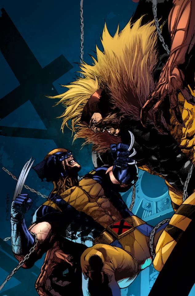 837de0c306c Wolverine Vs Sabretooth by arfel1989 on DeviantArt