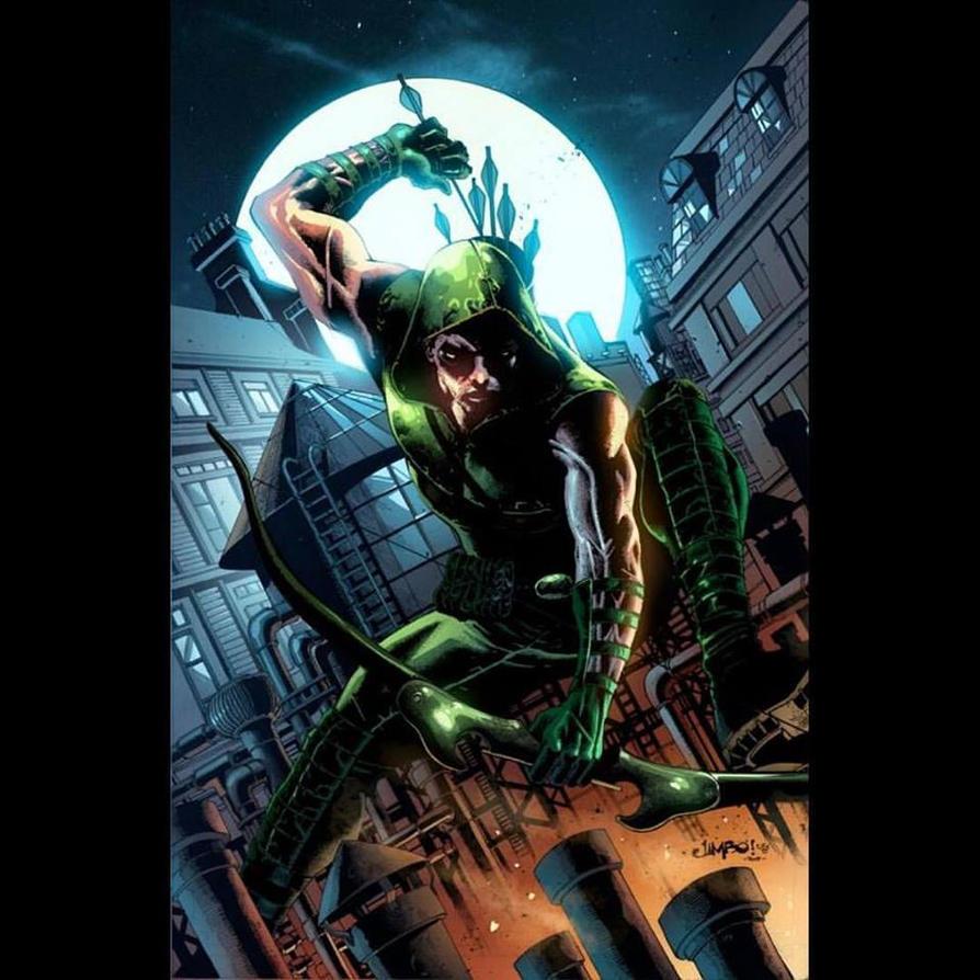 Green Arrow by arfel1989