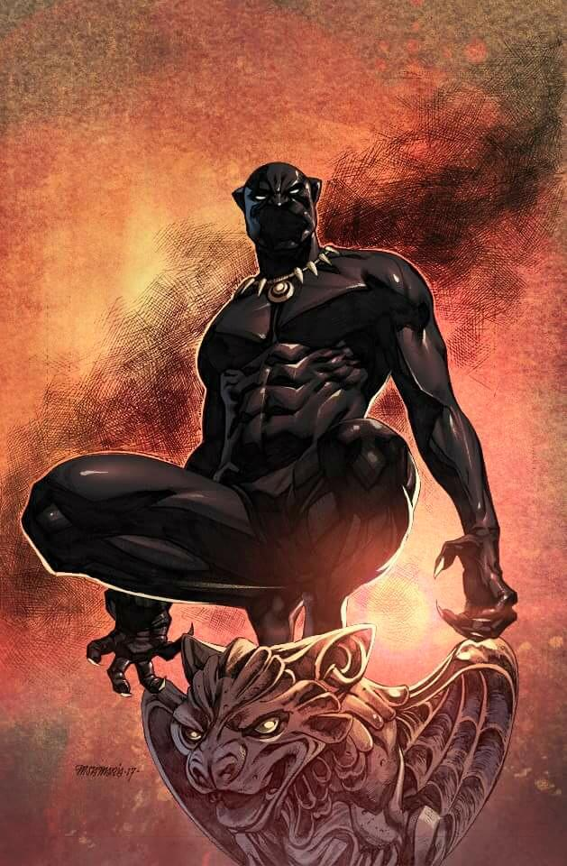 Black Panther by arfel1989