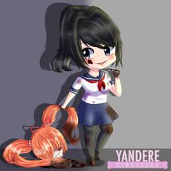 Yandere Simulator Fanart by Mewssii