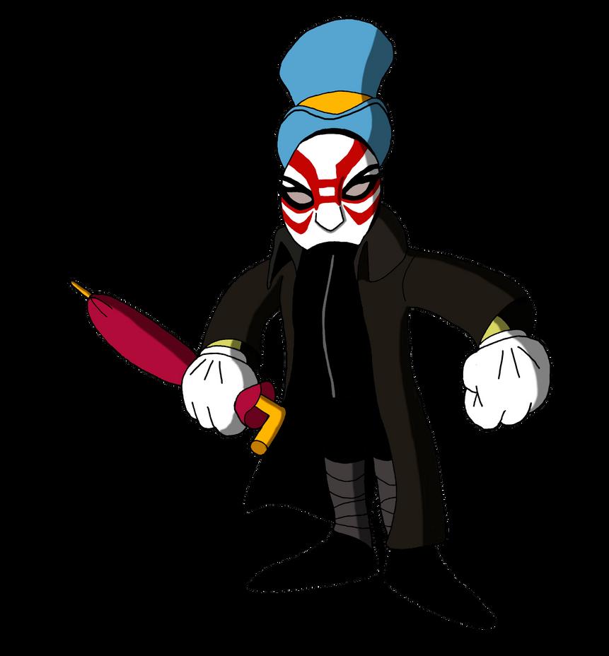 Jiminy Cricket as Yokai by renthegodofhumor on DeviantArt