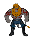 Benny the Beast as Drax the Destroyer