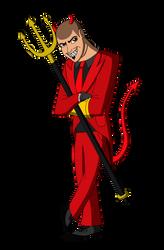 Ralphie the Devil by renthegodofhumor