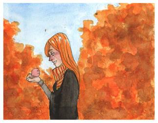 Ginny Weasley by Mellobird
