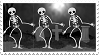 Spooky Skeleton Stamp by KaitaAlabaster