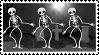 Spooky Skeleton Stamp by Ceimnithe