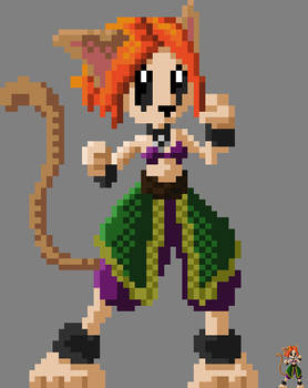 Pixel Cat-Girl