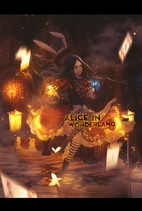 [ 06062018 ] Alice in wonderland by DKujinl