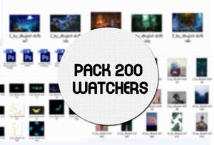 [ SHARE ] PACK 200 WACTHERS