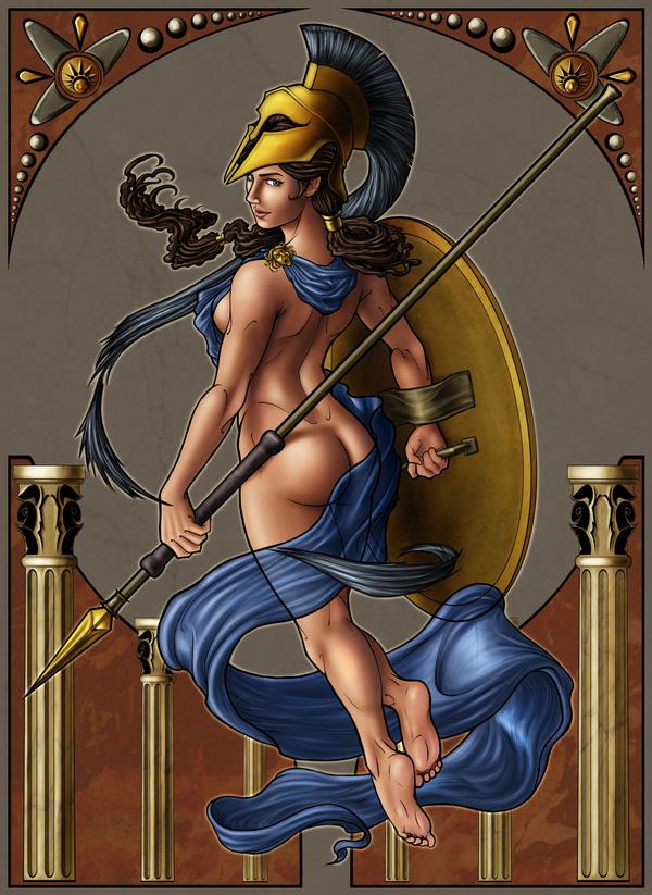 Goddess Athena by sKeTcH-cRaZy