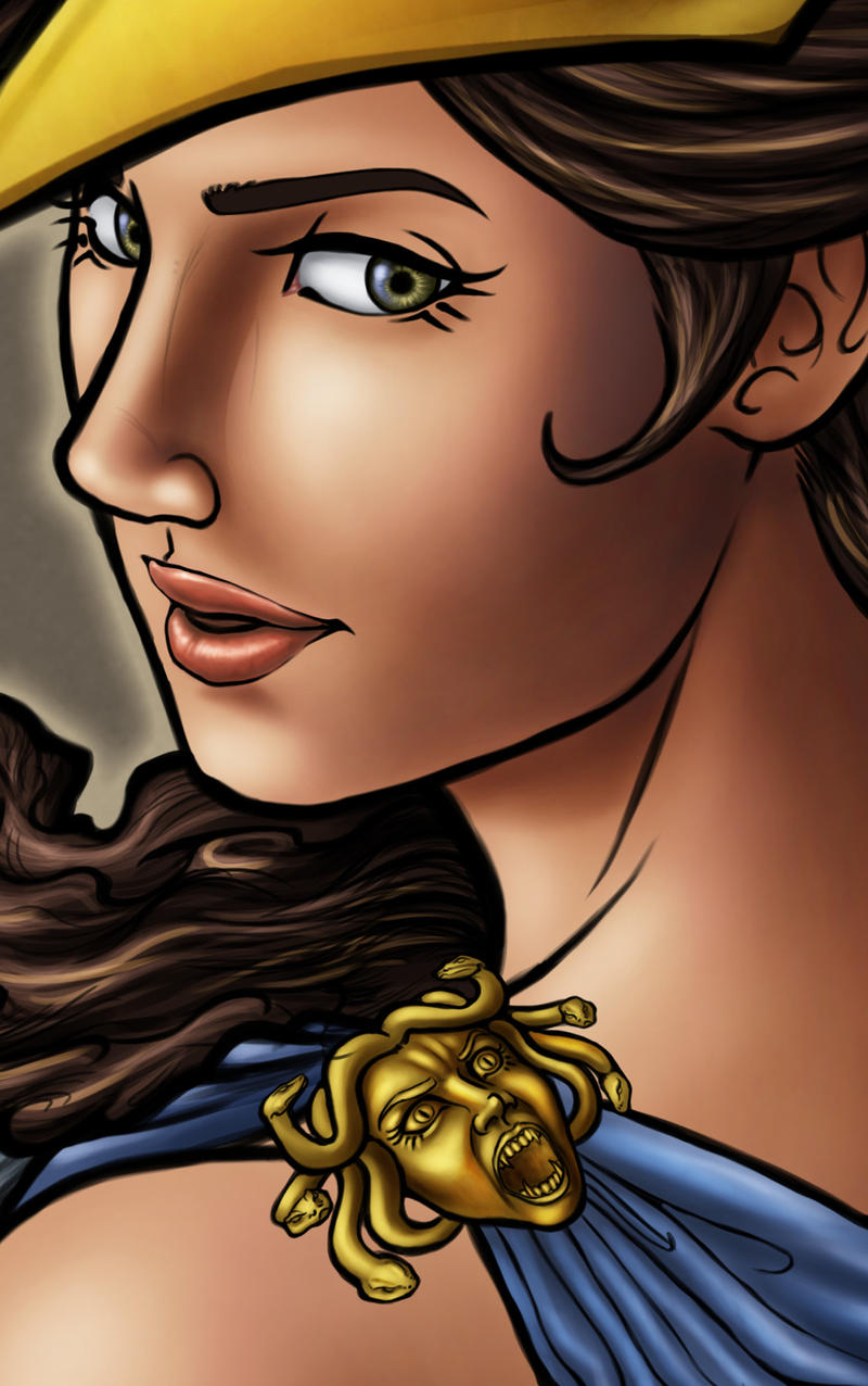 goddess athenasketch-crazy on deviantart