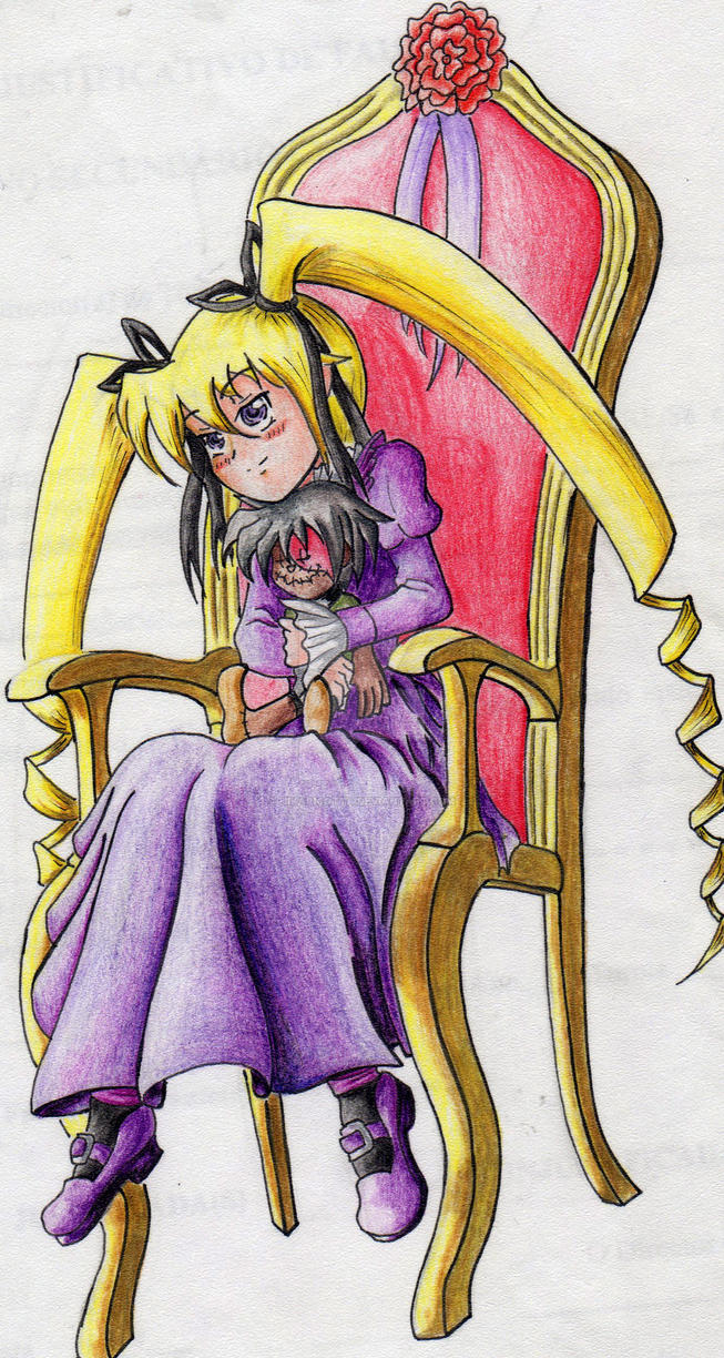 A Doll In A Chair By Samsilver Chan92 On Deviantart