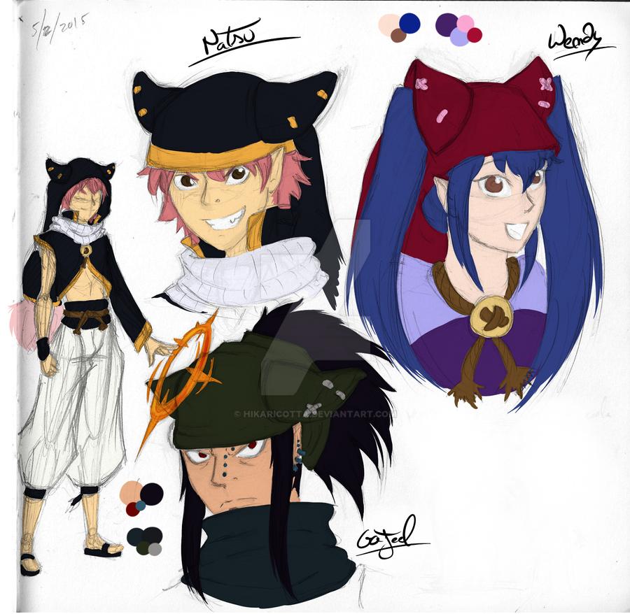 Fairy Tail AU: Eliotropes by SamSilver-chan92